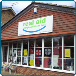 Real aid charity shop