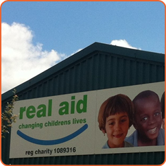 Real aid charity warehouse